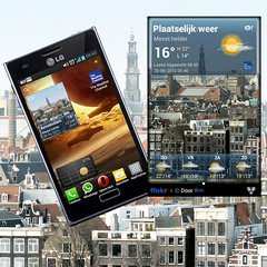My photo in the new Yahoo Weather app (Bn) Tags: sunshine amsterdam weather mobile season yahoo google globe flickr play ben nederland lg photographs download optimus prinshendrikkade today sh