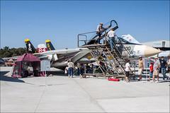 Grumman F-14A Tomcat (eugene.photo) Tags: california usa us f14 events airports santarosa 2009 tomcat grumman sts jollyrogers f14a cvw8 vf84 grummanf14atomcat wingsoverwinecountryairshow 160889