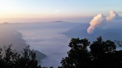 Mount Bromo (SqueakyMarmot) Tags: travel asia indonesia java 2016 kalibaru mountbromo dawn steam mountpenanjakan