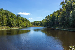 Cedarville State Forest Pond by Terry Thomas (AccessDNR) Tags: 2016 photocontest fall autumn scenery sceniclandscape pond cedarville stateforest