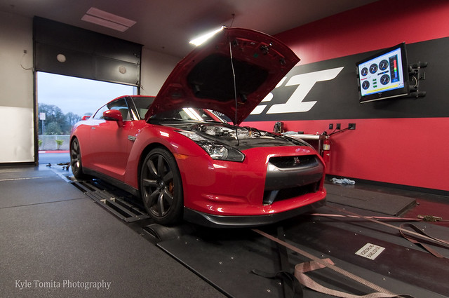 Alpha 6 GT-R on dyno at PSI