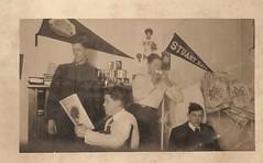 Leisure Hours (neshachan) Tags: fraternity 1912 wvu alpharho westvirginiauniversity vintagephotograph kappaalpha instantrelative kappaalphaalpharho tomsburdett tomburdett hillardjarrett