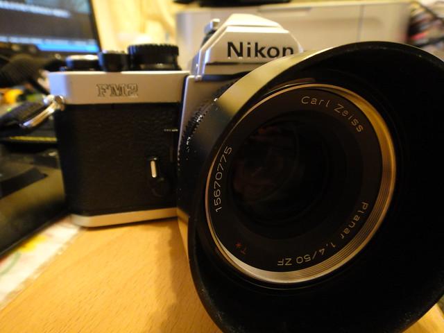 Nikon FM2+ZF 50 1.4 小試