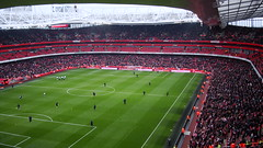 Arsenal v Tottenham Hotspur (Ruzhyo) Tags: red white london spurs football arsenal derby tottenham ashburtongrove northlondon tottenhamhotspur emirites