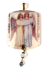 2010 Holiday Collection - Victorian Romance - Angels We Have Heard On High Ornament 1