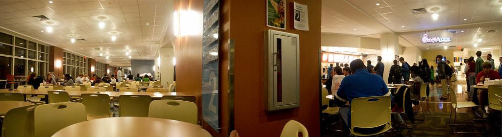 Student Center Panorama