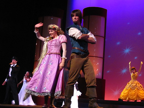 New El Capitan Stage Show welcoming Rapunzel and Flynn Rider to the Disney Family