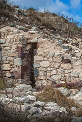 Santorini | Greece | Ancient Thera - 3rd Century BC House Ruins (Marcus Frank) Tags: century ancient ruins bc santorini greece third 300 period 3rd cyclades archeological thera hellenistic