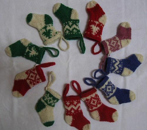 Tiny Christmas Stockings!