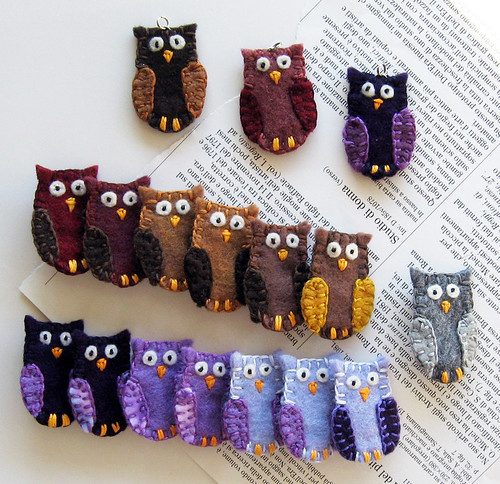 Another batch of hoot owls!