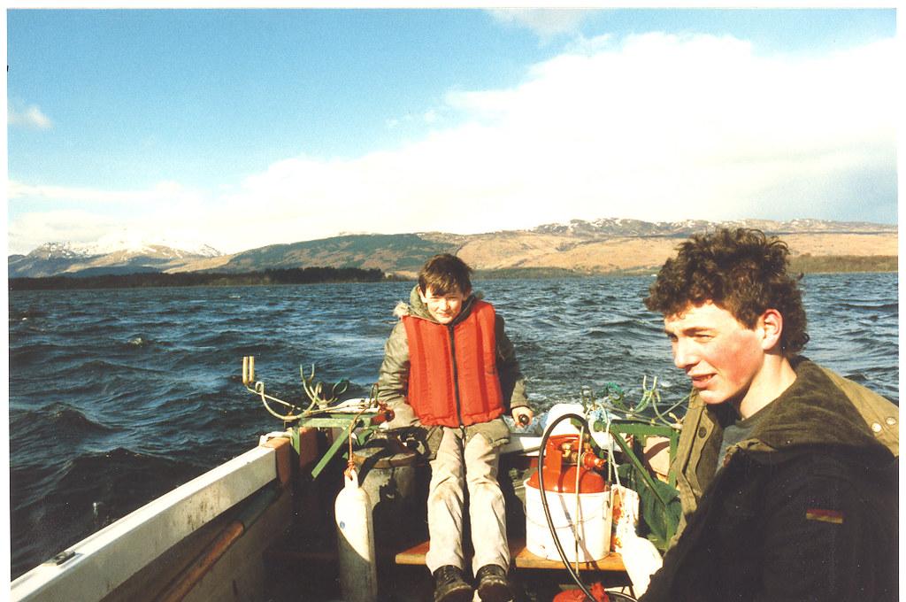 Tony Nicoletti and George Watson 1980s
