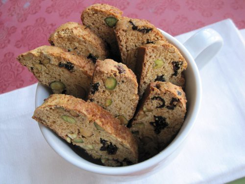 Pistachio Cranberry Biscotti: 12 Days of Gluten-Free Christmas Cookies ...