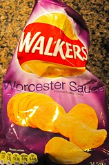 worcester sauce crisps