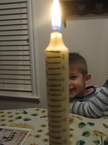 Advent Candle - day 1