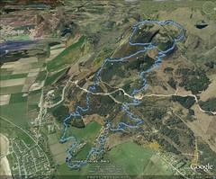 Golspie Wildats Black - GE GPS (Anthony Round) Tags: scotland highlands maps mountainbike trail mtb gps wildcat sutherland googleearth golspie