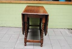 德國古董餐桌