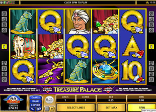 Treasure Palace slot game online review