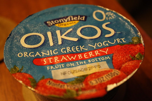 Oikos Organic Greek Yogurt-Strawberry
