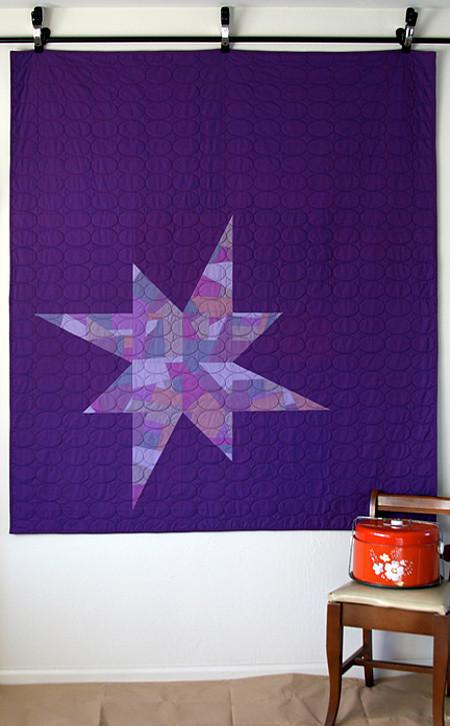 Custom Star Quilt Front
