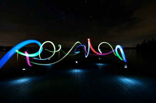 LightPainting Tutorial - Light Graffiti by Phaedrus007