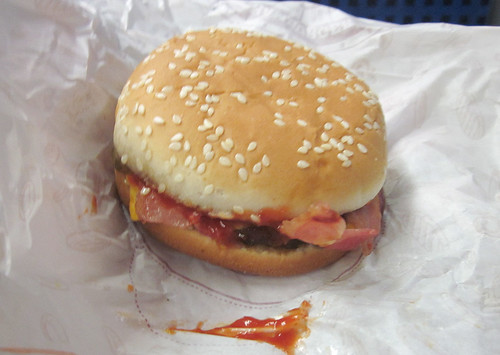 Burger King Bacon Cheeseburger
