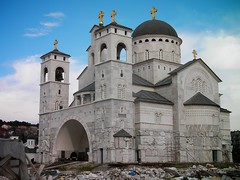 Podgorica Cathedral (tm-tm) Tags: church architecture cathedral balkans orthodox montenegro podgorica osm:node=308668222