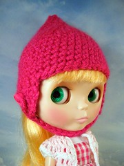 Raspberry Gnome Helmet for Blythe
