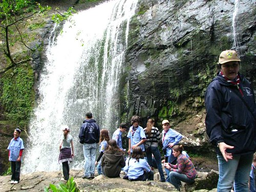 Cachoeira da Usina no Ecoparque Sperry