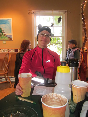Susan at the Coffee Cottage in Newberg