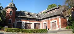 Sorakuen Garden, a stable block