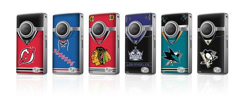 NHL Flip Video cameras