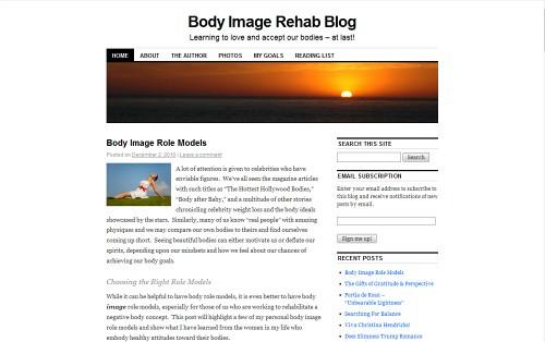 Body Image Rehab