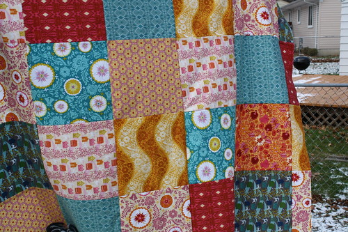 Folksy Flannel Quilt Top