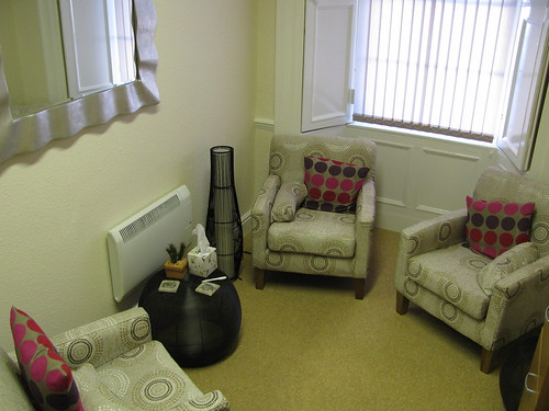 Liskeard office therapy room