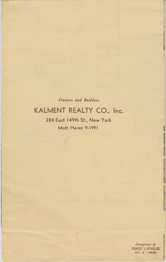 The worlds best photos of blueprint and queens flickr hive mind wareham apartments 69 81 108th st forest hills ny owners amp builders back cover malvernweather Image collections