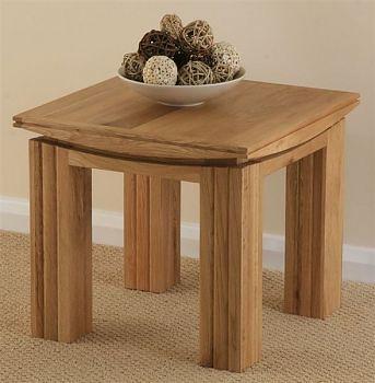 Tokyo Solid Oak Side Table