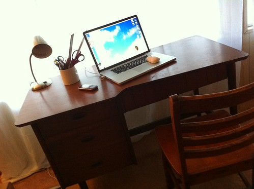 my new desk