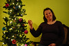 Won't You Come in and Enjoy My Tree? (nateOne) Tags: christmas tree 50mm lights libby schnivic tradition 50mmf18 iso2000 nikond700 160secatf18
