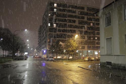 Snow in Torino