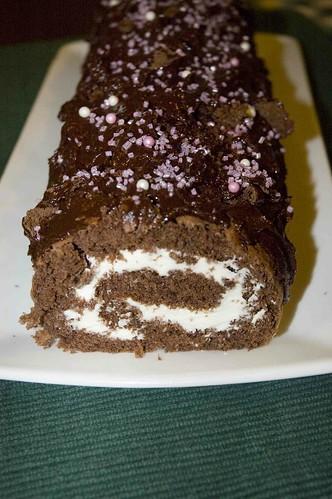 šokolaadine rullbiskviit