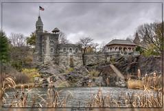 Belvedere Castle, Central Park (GarryBoggan) Tags: newyork centralpark hdr belvederecastle nikond90 garryboggan