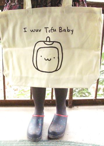 Tofu Baby Tote Bag 0071