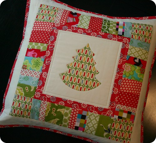 Tree Pillow - for giveaway day!