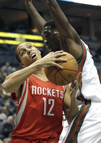 Rockets Bucks Basketball