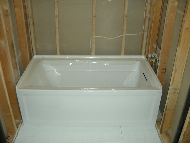 Drywall Install - Alcove Tub - Building & Construction - DIY ...