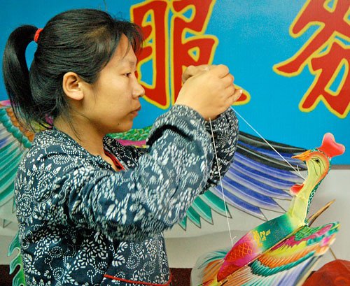 Kite Factory Artists: Weifang Kites 潍坊风筝艺术工厂