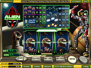Alien Invasion slot game online review