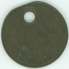 Holed and stamped Large Cent2