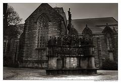calvaire de Plougastel (Bretagne) (Art Photography by F.Best) Tags: france architecture canon noiretblanc bretagne église hdr spiritualité artphotography plougastel canon50d photographieartistique calvairedeplougastel fabricebest bestfabrice artphotographybyfbest