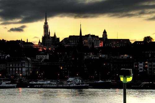 Buda skyline. Budapest. Skyline de Buda